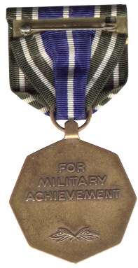 Army Achievement Medal (Back)