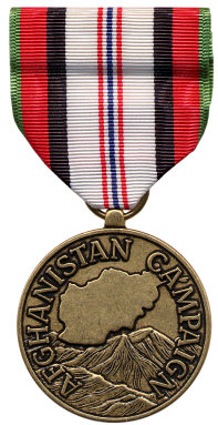 Afghanistan Campaign Medal (Front)