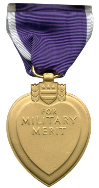Purple Heart (Back)