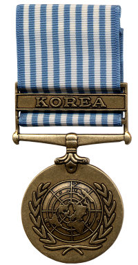 United Nations Service Medal (Front)